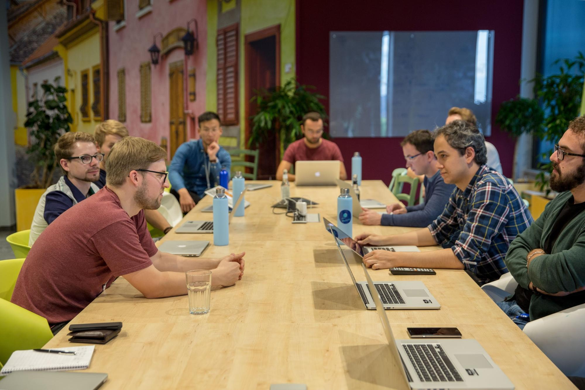 JavaScript Guild meeting with webpack's TobiasKoppers