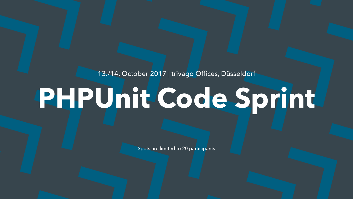 Read PHPUnit Code Sprint at trivago Offices, Oct. 13th/14th