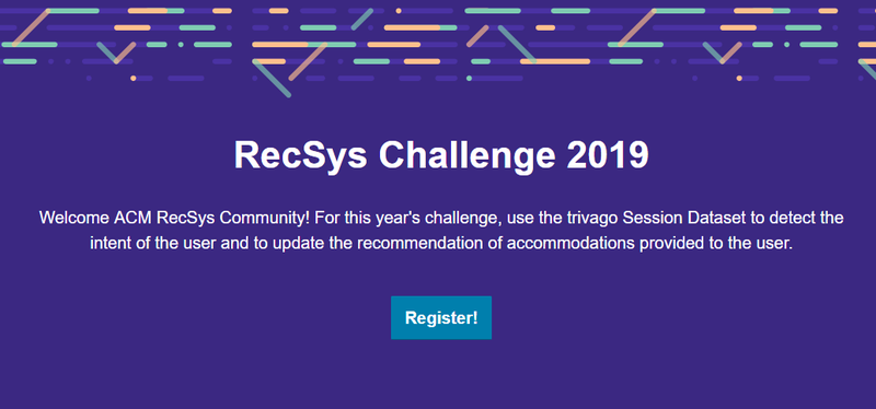 Click here to go to the official homepage for the RecSys Challenge 2019